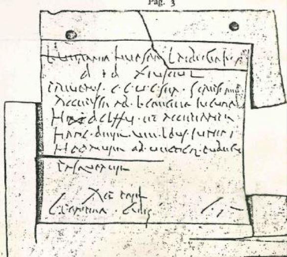 scritta pompei capitale corsiva