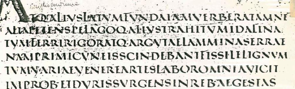 Scrittura quarto secolo